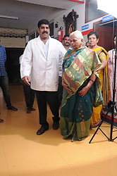"EXCLUSIVE: Erramatti Mangayamma, 73, was so desperate and determined to have a baby that she 'underaged herself' to avoid the chances of being ruled out for the IVF treatment. ""She lied about her age to avail the treatment. But after fact-checking with her husband and kin, who in turn submitted her school records, we discovered that she was born on September 1, 1946. And we got to know about this after she conceived,"" said Dr. S Umashankar, who headed the team of doctors at Ahalya Nursing Home in the southern Indian Andhra Pradesh state's Guntur town. The doctors told the family that they have to live in the hospital during the entire course of pregnancy. ""I told her husband that I cannot let you go home as they would jeopardise our treatment plan,"" said Dr Uma Shankar. 