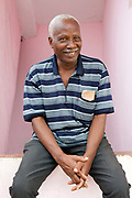 A portrait of Ozirio, 74, San Antonio, Sao Tome and Principe<br /> Sao Tome and Principe, are two islands of volcanic origin lying off the coast of Africa. Settled by Portuguese convicts in the late 1400s and a centre for slaving, their independence movement culminated in a peaceful transition to self government from Portugal in 1975.