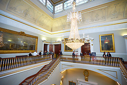 © Licensed to London News Pictures. 12/03/2018. LONDON, UK.  Institute of Directors Open House 2018. General view of the IOD building in Pall Mall.    Photo credit: Cliff Hide/LNP