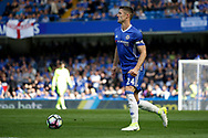 Chelsea Defender Gary Cahill (24) during the Premier League match between Chelsea and Sunderland at Stamford Bridge, London, England on 21 May 2017. Photo by Andy Walter.