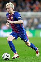 FC Barcelona's Ivan Rakitic during Spanish King's Cup Semi Final 2nd match. February 8,2018. (ALTERPHOTOS/Acero)