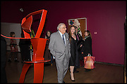 VICTOR LOWNDES; MARILYN COLE-LOWNDES, Allen Jones private view. Royal Academy,  London. 11 November  2014.