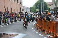 during stage 17 of the Giro D'Italia, Iseo Italy on 23 May 2018. Picture by Graham Holt.