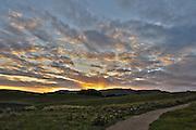 sunset Near Nelson, New Zealand