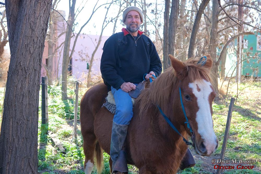 David Barron Horseback Riding