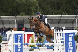 056 - Fiarabo - Diks Aniek (NED)<br /> 4 Jarige Finale Springen<br /> KWPN Paardendagen - Ermelo 2014<br /> © Dirk Caremans