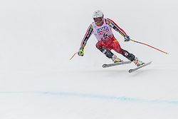 February 9, 2019 - Re, SWEDEN - 190209 Benjamin Thomsen of Canada competes in the downhill during the FIS Alpine World Ski Championships on February 9, 2019 in re  (Credit Image: © Daniel Stiller/Bildbyran via ZUMA Press)