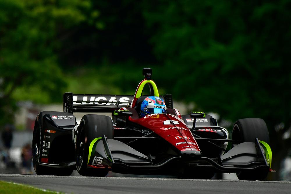 Robert Wickens, Schmidt Peterson Motorsports Honda<br /> Friday 22 June 2018<br /> KOHLER Grand Prix at Road America<br /> Verizon IndyCar Series<br /> Road America WI USA<br /> World Copyright: Scott R LePage