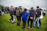 About 200 campaigners from different local groups came together today for a festival of solidarity and dancing with residents of Napier Barracks, a former military barracks that is being used as an assessment and dispersal facility for asylum seekers by the Home Office on the 21st of May 2021 in Folkestone, Kent, United Kingdom.