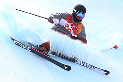 USA's Gus Kenworthy during run 3 in the Men's Ski Slopestyle Skiing at the Pheonix Snow Park during day nine of the PyeongChang 2018 Winter Olympic Games in South Korea.
