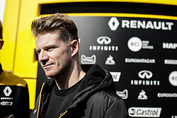 February 21, 2019 - Montmelo, BARCELONA, Spain - Nico Hulkenberg from Germany with 27 Renault F1 Team RS19 portrait during the Formula 1 2019 Pre-Season Tests at Circuit de Barcelona - Catalunya in Montmelo, Spain on February 21. (Credit Image: © AFP7 via ZUMA Wire)