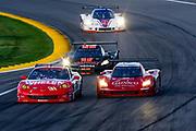 August 17, 2013: Grand Am Kansas. Eric Curran, Boris Said, Marsh Racing,  Jon Fogarty, Alex GurneyBo, Stallings Racing