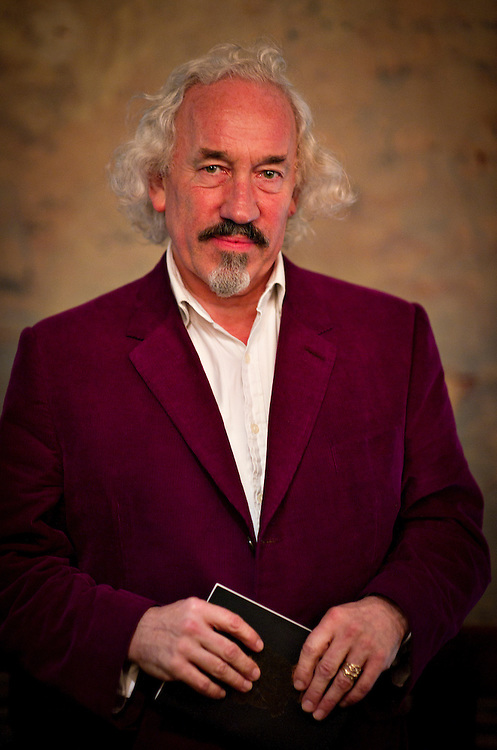 Simon Callow poses before the The Off West End Theatre Awards, in London.