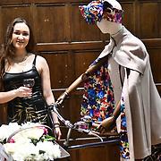 Countessina Anna Lutskova De Bacci is a Political Commentator attend the upcoming Romanian designers Gabriela Rose exhibition at The Romanian Cultural Institute in London on 21 Feb 2019, London, UK.