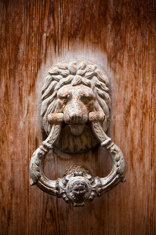 Door Knocker, Soller, a town in western Mallorca