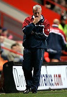 Photo: Tom Dulat/Sportsbeat Images.<br /> <br /> Charlton Athletic v Burnley. Coca Cola Championship. 01/12/2007.<br /> <br /> Manager of Charlton Athletic Alan Pardew durig the game.
