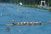 Amsterdam. NETHERLANDS. GBR M8+. 2014 FISA  World Rowing. Championships.  De Bosbaan Rowing Course . 08:40:32  Thursday  21/08/2014  [Mandatory Credit; Peter Spurrier/Intersport-images]22014 FISA  World Rowing. Championships.  De Bosbaan Rowing Course . 09:22:03  Thursday  21/08/2014  [Mandatory Credit; Peter Spurrier/Intersport-images]