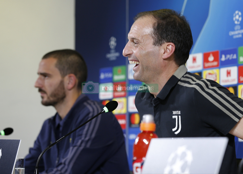 November 6, 2018 - Turin, Italy - Massimiliano Allegri during Champions League press conference before the match  between Juventus v Manchester United, in Turin, on November 6, 2018. (Credit Image: © Loris Roselli/NurPhoto via ZUMA Press)