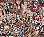 Monumental Tapestry 1472. To commemorate the glorious victories of King Alfonso V of Portugal over Asilah and Tangier. Flemish Weavers