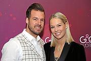 Linda Fäh mit ihrem Mann Marco Dätwyler anlässlich der Glory-Verleihung 2019