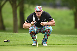 Mike Tindall during the ISPS Handa Celebrity Golf Classic at The Belfry in Sutton Coldfield.