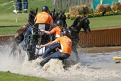 Chardon IJsbrand, (NED), Bravour, Don Marcell, Eddy, Winston E<br /> Marathon Driving Competition<br /> FEI European Championships - Aachen 2015<br /> © Hippo Foto - Dirk Caremans<br /> 22/08/15