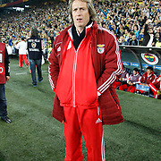 Benfica's coach Jorge Jesus during their UEFA Europa League Semi Final first match Fenerbahce between Benfica at Sukru Saracaoglu stadium in Istanbul Turkey on Thursday 25 April 2013. Photo by Aykut AKICI/TURKPIX
