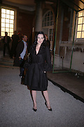 DITA VON TEESE. Launch of Stella McCartney collaboration with H & M. St. Olaves. Tooley St. London SE1. 25 October 2005. October 2005. ONE TIME USE ONLY - DO NOT ARCHIVE © Copyright Photograph by Dafydd Jones 66 Stockwell Park Rd. London SW9 0DA Tel 020 7733 0108 www.dafjones.com