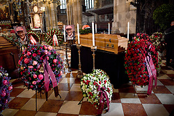 May 29, 2019 - Vienna, Austria - General view of the funeral of Formula 1 racing driver Niki Lauda at St Stephan Cathedral on May 29 2019 in Vienna, Austria  (Credit Image: © Famous/Ace Pictures via ZUMA Press)