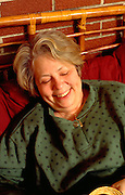 Woman age 58 laughing herself into wakefulness.  WesternSprings  Illinois USA