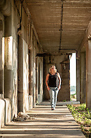 A day at the Fort with Cathleen Trainor.   ©2104 Karen Bobotas Photographer