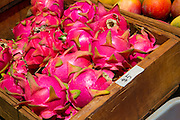 Dragon fruit, Farmers Market, Hanalei, Kauai, Hawaii