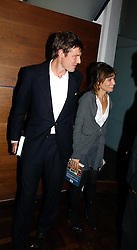ZAC GOLDSMITH and his wife  at a party to celebrate the publication of 'The year of Eating Dangerously' by Tom Parker Bowles held at Kensington Place, 201 Kensington Church Street, London on 12th october 2006.<br /><br />NON EXCLUSIVE - WORLD RIGHTS