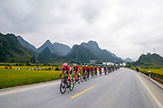Landscape and peloton during the Tour of Guangxi 2018, stage 4 cycling race, Nanning - Nongla Scenic Area (152,2 km) on October 19, 2018 in Nongla, China - Photo Luca Bettini / BettiniPhoto / ProSportsImages / DPPI