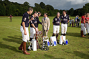 ROYAL NAVY  TEAM, JEREMY HACKETT IN THE CENTRE. . Hackett Rundle Cup 2008. Tidworth. 12 july 2008 *** Local Caption *** -DO NOT ARCHIVE-© Copyright Photograph by Dafydd Jones. 248 Clapham Rd. London SW9 0PZ. Tel 0207 820 0771. www.dafjones.com.