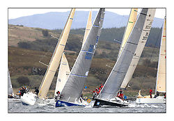 Brewin Dolphin Scottish Series 2011, Tarbert Loch Fyne - Yachting - Day 1 of the 4 day series..IRL3939 ,Antix ,Anthony O'Leary, Royal Cork YC ,Ker 39 and GBR9369R ,Bateleur 97 ,Chris Bonar ,CCC/Royal Tay YC ,BH36.