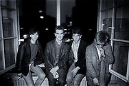 The Smiths before Concert - Markthalle, Hamburg, Germany 1984