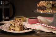 Coffee cake by Rodney Bedsole, a food photographer based in Nashville and New York City