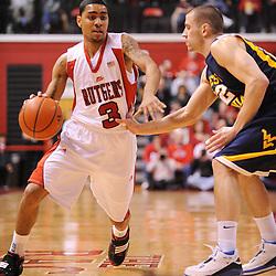 NCAA Basketball - West Virginia at Rutgers - Feb 22, 2009