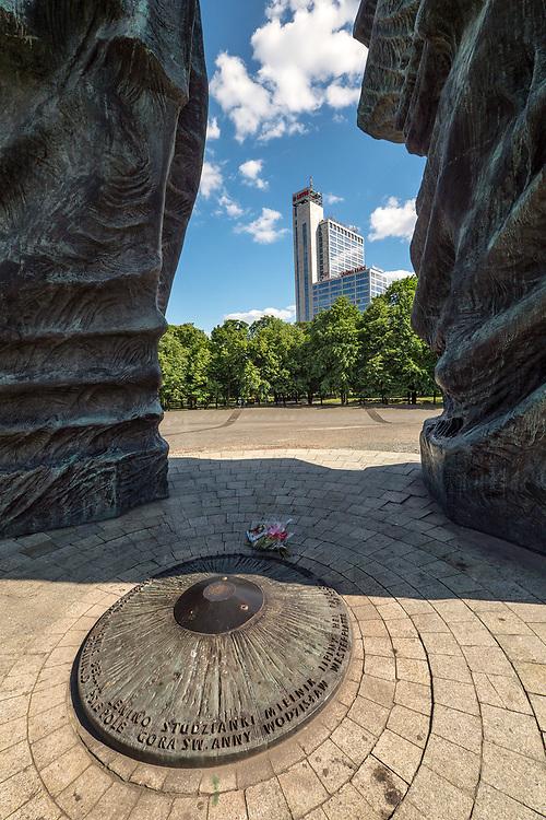 Pomnik Powstańców Śląskich w Katowicach, Polska<br /> The Silesian Insurgents' Monument in Katowice, Poland
