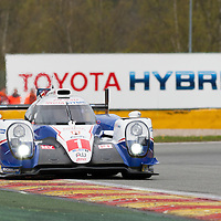 Toyota Racing Toyota TS040 Hybrid #1 driven by Anthony Davidson / Sebastien Buemi / Kazuki Nakajima, WEC 6 Hours of Spa-Francorchamps 2015