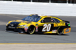 July 20, 2018 - Loudon, NH, U.S. - LOUDON, NH - JULY 20: Erik Jones, driver of the #20 DeWalt Toyota during  practice for the Monster Energy Cup Series Foxwoods Resort Casino 301 race on July, 20, 2018, at New Hampshire Motor Speedway in Loudon, NH. (Photo by Malcolm Hope/Icon Sportswire) (Credit Image: © Malcolm Hope/Icon SMI via ZUMA Press)