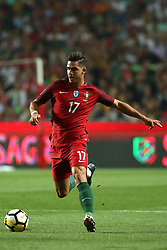 October 10, 2017 - Lisbon, Portugal - Portugal's forward Andre Silva in action during the 2018 FIFA World Cup qualifying football match between Portugal and Switzerland at the Luz stadium in Lisbon, Portugal on October 10, 2017. Photo: Pedro Fiuza  (Credit Image: © Pedro Fiuza/NurPhoto via ZUMA Press)