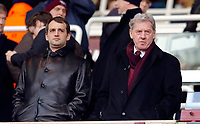 Photo: Daniel Hambury.<br />West Ham United v Portsmouth. The Barclays Premiership. 18/03/2006.<br />Portsmouth's owners Milan Mandaric (R) and Alexander Gaydemark.