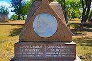 Father Damien Memorial, Kalaupapa Peninsula, Molokai, Hawaii