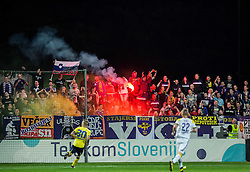 Viole, supporters of Maribor during football match between NK Celje and NK Maribor in Final of Slovenian Cup 2016, on May 25, 2016 in Stadium Bonifika, Koper, Slovenia. Photo by Vid Ponikvar / Sportida