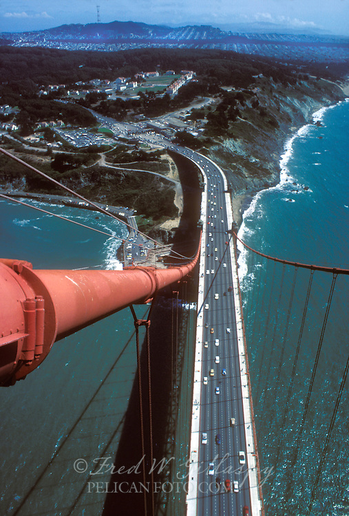 Golden Gate Bridge From South Tower