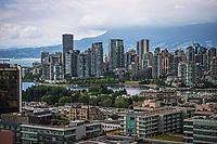 False Creek & Vancouver Skyline