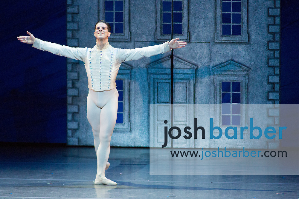 """Marcelo Gomes during American Ballet Theatre's performance of """"The Nutcracker"""" at Segerstrom Center for the Arts on Thursday, December 10, 2015 in Costa Mesa, California. (Photo/Josh Barber)"""