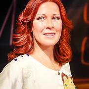 NLD/Amsterdam/20130710 - Onthulling wassen beelden van Abba door Gerard Joling in Madame Tussauds , wassen beeld van  Anni-Frid Lyngstad